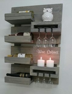 Look around a plethora of violet probe designs, inclusive of surface positioned mauve phases and particular person violet flask spaces. Diy Home Bar, Diy Home Decor, Room Decor, Wood Wine Racks, Wine Rack Wall, Wine Glass Shelf, Glass Shelves, Wine Rack Design, Home Bar Designs