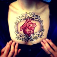 Chest Tattoo done byCurt Young.