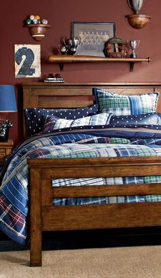 Hamilton Quilt Collection boys bedrooms