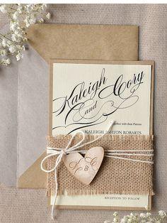 Rustikale Hochzeitseinladungen 20 Hochzeit von forlovepolkadots
