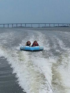 Tubing with friends. Duck, nc