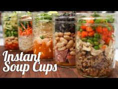 Never Buy Canned Soup Again! Here Are 5 Recipes for Homemade Soup in a Mason Jar!