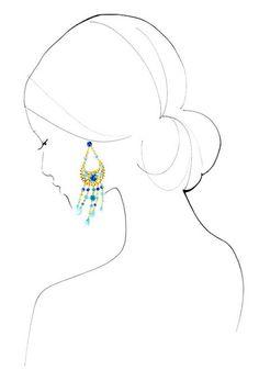 shu84: Yoco Nagamiya Fashion Illustrations