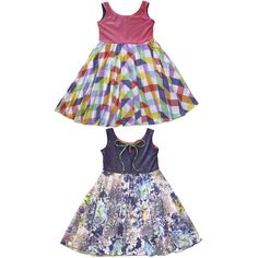 Buy these beautiful dresses for girls that are reversible, twirly & great to wear for a party & everyday. Girls Boutique Dresses, Boutique Clothing, Girls Dresses, Flower Girl Dresses, Friends Fashion, Kids Fashion, Little Girl Summer Dresses, Holiday Dresses, Look Cool