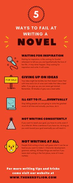 How to fail at writing a novel. Tips on writing better, and getting closer to finally having your works published. Learn how to break through writers block and live in the zone. Become the best writer you can be and make best sellers. #writers #writersblock #bloggerlife #