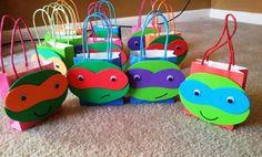 Geschenktüten mit Turtles