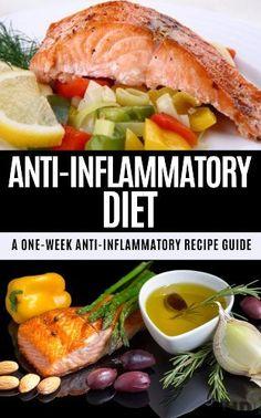 Anti-Inflammatory Diet: A One Week Anti-Inflammatory Recipe Guide: How Changing Your Diet Can Change Your Life (Anti-inflammatory, recipe guide, diet plan, ... healthy eating, allergies, heart disease) by Jennifer Jones, http://www.amazon.com/dp/B00K6YMR3S/ref=cm_sw_r_pi_dp_KKkJtb12PANJX