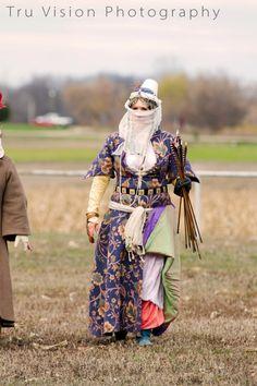 Mistress Hauviette in late period Ottoman costume.  (Used with permission).