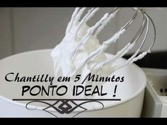 CHANTILLY FALSO BARATO. GASTE APENAS R$ 3,29/ INÉDITO - YouTube
