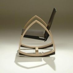 Woodpecker Rocking Chair by P
