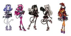 """""""Werecats"""" by ami-kesinger on Polyvore featuring Mew."""