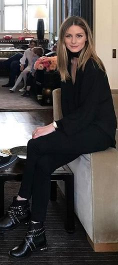 Shirt – Rachel Pally Shoes – Miu Miu similar style shoes by the same designer !function(doc,s,id){ var e, p, cb; if(!doc.getElementById(id)) { e = doc.createElement(s); e.id = id; cb = …
