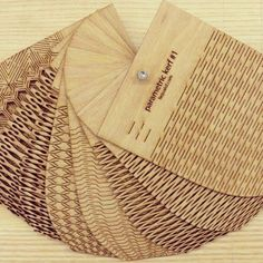 flexible wood samples