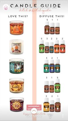 Young Living 349521621083435802 - Source by gabiekitty Fall Essential Oils, Essential Oil Candles, Essential Oil Diffuser Blends, Cinnamon Bark Essential Oil, Essential Oil Storage, Young Living Essential Oils, Design Facebook, Diffuser Recipes, Aromatherapy Oils