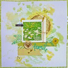 Tutorial & Layout von Anke Kramer für www.danipeuss.de | Aquarell Hintergrund mit Faber-Castell Gelatos gestalten