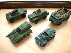 DIECAST MATCHBOX ARMY VEHICLES, ROLAMATICS, SUPERFAST, FERRET SCOUT CAR - LESNEY - http://www.matchbox-lesney.com/?p=1204