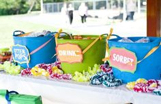 High School Graduation Party Ideas - Bing Images, this would be cute with a Candy Bar! Graduation Party Themes, College Graduation Parties, Grad Parties, Graduation Ideas, Graduation 2015, Graduation Celebration, Luau Pool Parties, Luau Theme Party, Summer Parties