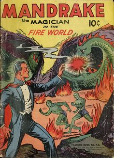 Mandrake the Magician in the Fire World