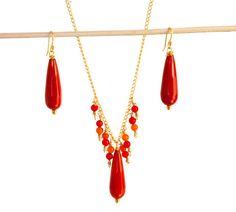 Red hues by Marisol on Etsy