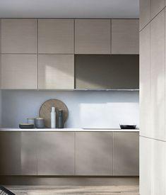 Beige Kitchen, Stone Kitchen, Kitchen Colors, New Kitchen, Kitchen Decor, Modern Kitchen Design, Interior Design Kitchen, Cocinas Kitchen, Ideas Geniales