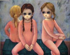Margaret and Walter Keane Big-Eye posters, available at www.FUTURESantiques.com