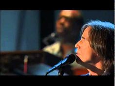 "Jackson Browne performs ""Running On Empty"" at the 2004 Hall of Fame Inductions."