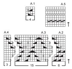 "Strikket DROPS poncho i ""Alpaca"" med hullmønster. Str S - XXXL. ~ DROPS Design"