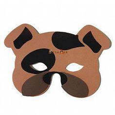 Christina Azul: Modelos e moldes de Máscaras de carnaval - Animais