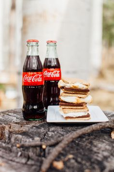 Gather your friends and family together for a Coca-Cola themed winter party. Serve some comfort food and gather around a fire for s'mores.