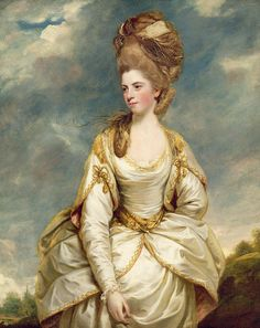 Miss Sarah Campbell, later Mrs. Woodhouse, by Sir Joshua Reynolds, c. 177-78. Yale Center for British Art, Paul Mellon Collection