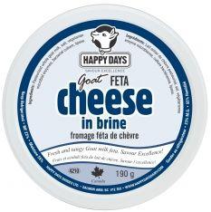Goat Milk Feta | Happy Days Dairy