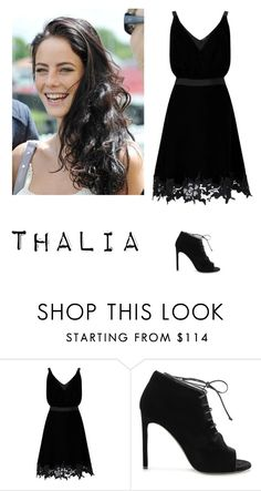 """""""Thalia Grace"""" by suassuif ❤ liked on Polyvore featuring Miss Selfridge and Yves Saint Laurent"""