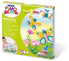 Fimo Kids play & form Vlinders