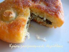 Spanakopita, Greek Recipes, Doughnut, Sandwiches, Muffin, Pizza, Cooking, Breakfast, Ethnic Recipes