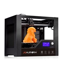 JGAURORA 3D PRINTER DESKTOP METAL FRAME MACHINE PROFESSIONAL HIGH RESOLUTION STABLE WORKING 3D PRINTING MACHINE,LARGE LCD DISPLAY POPULAR IN INDUSTRY AND EDUCATION ● Tem.&speed can be adjusted during printing by rotary button. ● Separate button for LED light and fan control, LED lamp installed near extruder which makes printing result checking more clearly, and could freely turn off the fan when printing ABS filament. ● Branded power supply and stepper motors, less noise.
