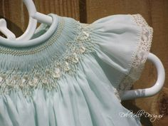 The Anna Bella Hand Smocked Bishop Dress Custom by DelValleDesigns165 00