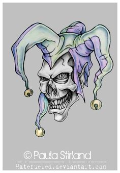 Evil Jester by hatefueled on @DeviantArt