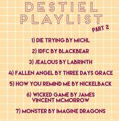 Destiel playlist part 2