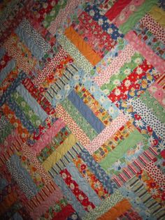 just DaRlinG!!! Jelly Roll Quilt