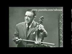 Juifs d'Algérie - Lili Labassi à la Télévision 1958 - Rare الموسيقى اليه...