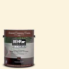 BEHR Premium Plus Ultra 1-gal. #P260-1 Glass of Milk Eggshell Enamel Interior Paint - 275001 - The Home Depot