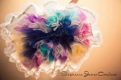 Is this not the most amazing petticoat!?  Navy, purple, lemon, magenta, and aqua.  WOW!!