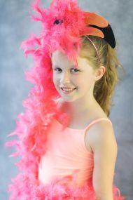 DIY Halloween Costume: Flamingo - Style Me Pretty Living