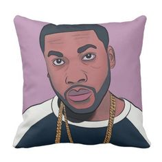by Eddie Monte' Hip Hop 4pillow Throw Pillow - individual customized designs custom gift ideas diy