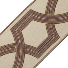 "Samuel and Sons Passementerie 5"" OGEE EMBROIDERED BORDER"