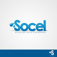 Arte campeã do projeto Socel - Acessórios e Conexões de Materiais de Construção #logovia #logodesign #logomarca