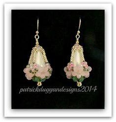 """""""A Basket of Blooms"""" earring - Tutorial by patrickduggandesigns"""