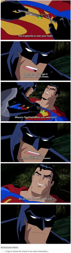 Esta escena llegaremos a ver en BATMAN V SUPERMAN.