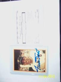 1 - 1985 Willie Mays Certified Autograph !