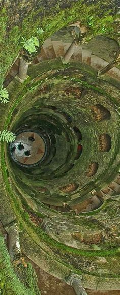 Initiation Well in Quinta da Regaleira - UNESCO World Heritage Site- Sintra | Portugal
